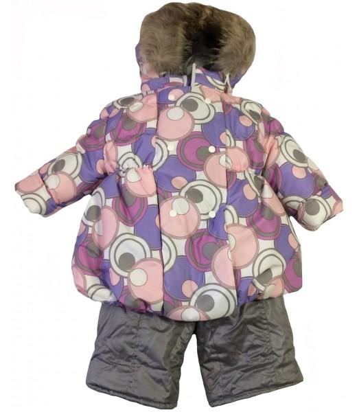 Детский зимний комплект: куртка и штаны для девочки