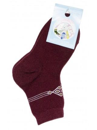 Детские носки с принтом, шерсть