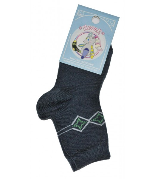 Детские носки с принтом(Шерсть)
