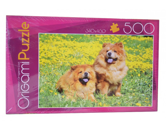 "Пазл 500 деталей ""Чау-Чау"" Origami Puzzle (02144)"