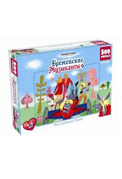 Пазл. Бременские музыканты (500 элементов)