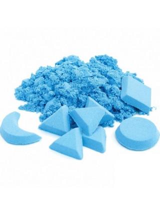 Песок для лепки синий в банке, 80 гр