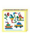 Мозаика магнитная (шестигранная 20 мм, 5 цветов, 125 штук)