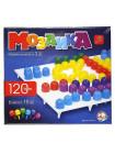 Фигурная мозаика 120 элементов, 6 цветов