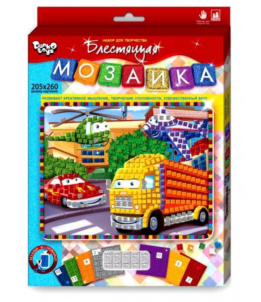 "Мозаика ""Сделай сам"" №4 (Машинки)"