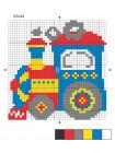 """Набор для вышивания крестиком """"Паровозик-2"""""""