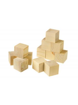 """Кубики неокрашенные """"Построй-ка"""""""