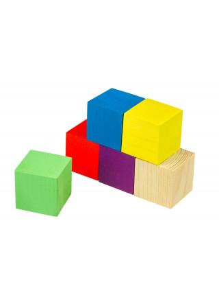 Кубики-окрашенные-6шт