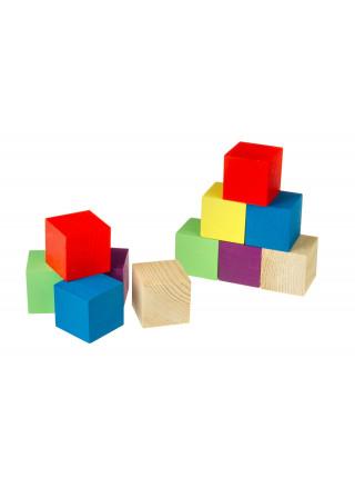 """Кубики окрашенные """"Построй-ка"""""""