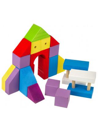 Конструктор окрашенный 27 элементов