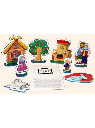 """Театр кукольный на столе """"Машенька и Медведь"""""""
