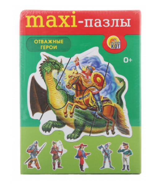 """Пазлы-макси """"Отважные герои"""""""