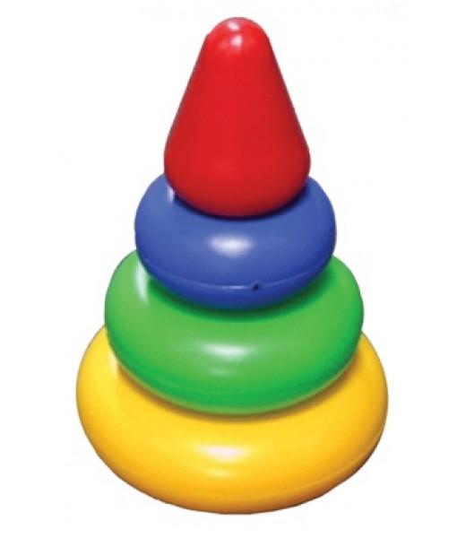 """Пирамидка """"Малышок"""" - Конус, 13 см"""