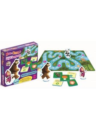 """Игра - ходилка """"Маша и Медведь. Речка с загадками"""""""