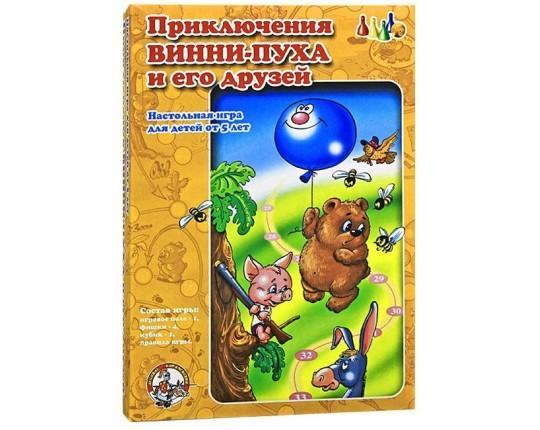 """Настольная игра-ходилка """"Приключения Винни-Пуха и его друзей"""""""