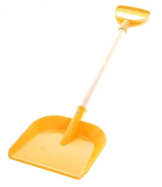 Лопатка пластмассовая с деревянной ручкой