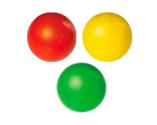 """Резиновый лакированный мяч """"Чапаев"""", 7.5 см"""