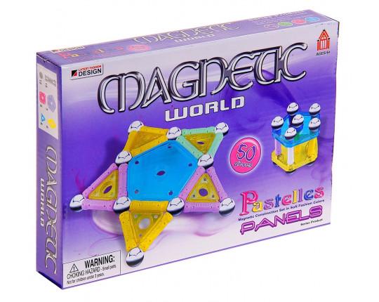Магнитный конструктор Magnetic 50 деталей