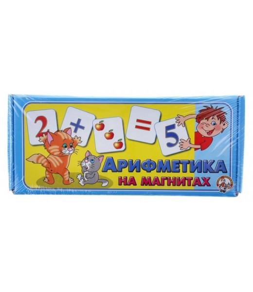 Арифметика на магнитах (картон)