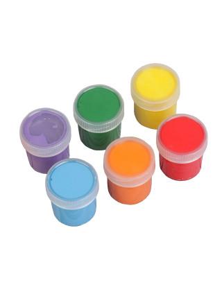 Смешарики Краски пальчиковые (6 цветов х 20 мл)