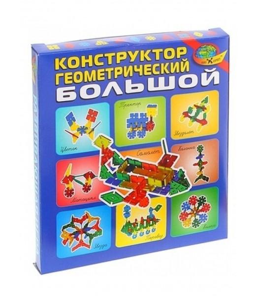 Конструктор геометрический 64 элемента